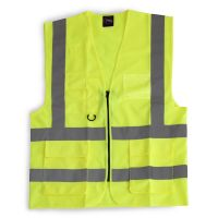 Hi Vis Clothing: 24/7-2200-Yellow Premier Vest