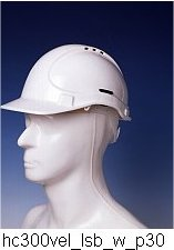 Safety Helmets: HC300VEL / LSB Style 300 HDPE Safety Helmet