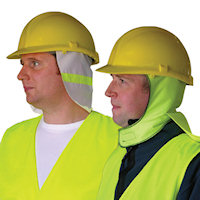 Safety Helmets : Weather Shield
