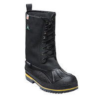 110 8-layer liner with waterproof leather upper,acid/oil resistant rubber base