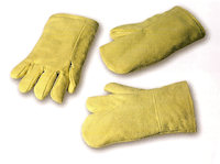 Thermal protection gloves - Hot: Aramid Fabric Glove Contact heat upto 500<SUP>o</SUP>C