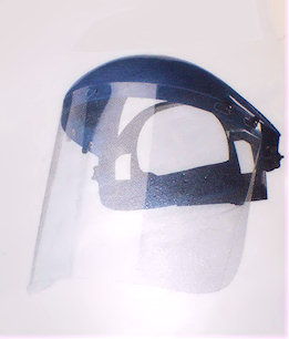 Head Band Mounted Face Screens : BL20PI