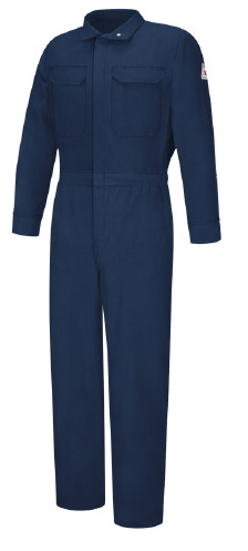 Lightweight Nomex FR Woman Bulwark® Protective Apparel offers flame-resistant protective garments