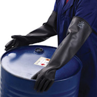 Chemprotec Unlined Natural Rubber Glove