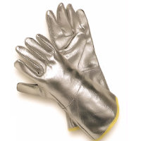 Thermal protection gloves - Hot: Completely Aluminium Coated Glove Radiation heat upto 1000<SUP>o</SUP>C / Contact heat upto 200<SUP>o</SUP>C