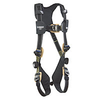1103088 Nomex®/Kevlar® web, PVC coated aluminum back D-ring, locking quick-connect buckles, comfort padding
