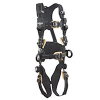 1113323 Arc Flash Construction Harness - Nomex / Kevlar web, dorsal web loop, front rescue loops