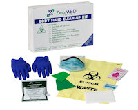 ZEO-2S13 Body Fluid Spill Clean-up Kit
