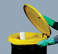 E3004-YE Universal Poly- Drum Funnel