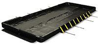 E4820-BK-SF Stinger Sanp-Foam Berm - true drive-in / drive-out capability
