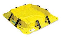 E5700-YE Portable, lightweight pallet to prevent spills.