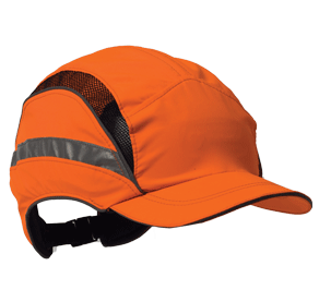 Bump Protection: First Base 3 Classic High Visibility A waterproof, breathable,  true high visibility cap with 360 degree reflective bead