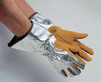 Firefighting Gloves : Gauntlet Style Glove 2