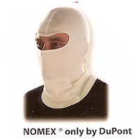 Contact & Radiation Heat Protection: Head protection Hood Contact heat upto 200<SUP>o</SUP>C