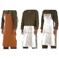 Contact & Radiation Heat Protection: Heat Protection Apron Radiation Heat upto 1000<SUP>o</SUP>C / Contact Heat upto 600<SUP>o</SUP>C