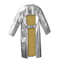 Contact & Radiation Heat Protection: Frontal Heat Protection Coat / Apron Radiation Heat upto 1000<SUP>o</SUP>C