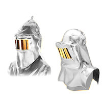 Contact & Radiation Heat Protection: Heat Protection Hood Radiation Heat upto 1000<SUP>o</SUP>C