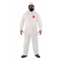 Disposable Clothing: MICROGARD 2500 Standard Coverall Meets Type4, 5, 6, EN14126, EN1073-2 Class 1, EN1149-1