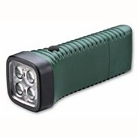 Multi LED 4 lenses concentrate the light from 4 high-power LEDs Superb lighting for both short & long distance