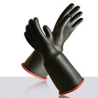 Electrical Protection Gloves: Novax - Bell cuff Rubber insulating gloves.
