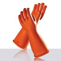 Electrical Protection Gloves: Novax - Straight cuff rubber insulating gloves
