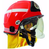 Structural Helmets: F10 MKIII Structural Fire Fighting helmet to NFPA & EN Standard