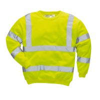 Hi Vis Clothing: PW-B303 Hi-Vis Sweatshirt