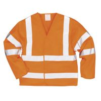 Hi Vis Clothing: PW-C473 Hi-Vis Two Band & Brace Jacket