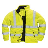 Hi Vis Clothing: PW-F300 Hi-Vis Mesh Lined Fleece