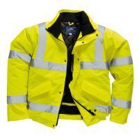 Hi Vis Clothing: PW-S463 Hi-Vis Bomber Jacket