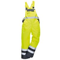 Hi Vis Clothing: PW-S488 Contrast Bib and Brace