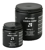 contra color Light gray paste with reducing agent. Solvent-free, slight sulfur smell, slightly alkaline