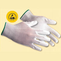 Antistatic / ESD Gloves: PW-A199 Antistatic PU Palm Glove