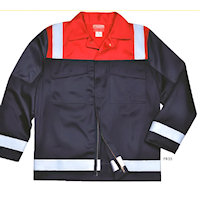 Hi Vis Clothing: PW-FR55 Anti-Static Two tone - Jacket