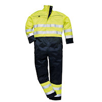 Coveralls: PW-FR60 Hi-Vis Multi-Norm Coverall