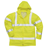 Hi Vis Clothing: PW-H440 Hi-Vis Rain Jacket & Trousers