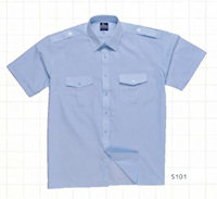 PW-S101 Pilot Shirt Short Sleeves