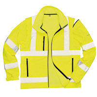 Hi Vis Clothing: PW-S428 Hi-Vis Softshell