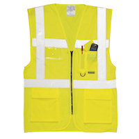 Hi Vis Clothing: PW-S476 EN 471 Executive Vest