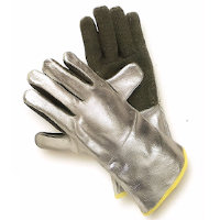 Thermal protection gloves - Hot: Preox-Aramid/Aluminium Coated Glove Radiation heat upto 1000<SUP>o</SUP>C / Contact heat upto 600<SUP>o</SUP>C