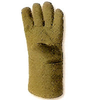Thermal protection gloves - Hot: Preox-Aramid Glove Contact heat upto 350<SUP>o</SUP>C