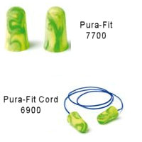 Pura-Fit - 7700 Earplugs suited to protect against long-term exposure