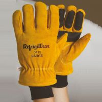 Gloves: RW-0419 Double Insulated Cowhide glove offers 5 layers of protection , For temperatures to -30F/-34C