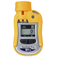ToxiRAE Pro LEL Personal Wireless Monitor for Combustible Gases and Vapors