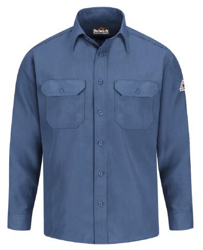 Nomex FR Uniform Shirt Bulwark® Protective Apparel offers flame-resistant protective garments