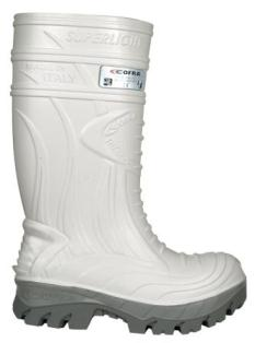 Thermal / Insulated safety footwear: CFR-THERMIC WHITE S5 Footwear THERMIC WHITE S5 HRO CI SRC
