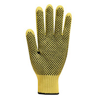 Touchstone Grip Mediumweight 100% Kevlar® Seamless Knitted Glove with PVC Dots