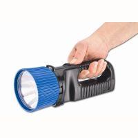 UniLux 5 LED LED Hand lamp with charging station 230V. Beam range 1000m