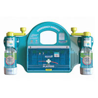 2401026 Large Emergency Eyewash Station with Plasters
