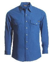 Tops: WR-220NX-45 4.5 oz Nomex IIIA Long Sleeve Western-Style Shirt